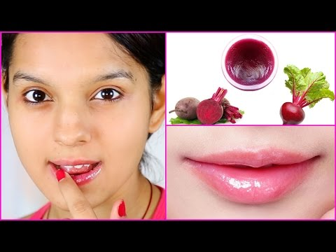 How To Make Your Own Lip Balm for Soft Pink Lips   PrettyPriyaTV
