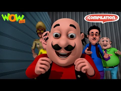 Motu Patlu funny videos collection #14 - As seen on Nickelodeon