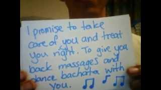 Best way to ask a girl to be your girlfriend.