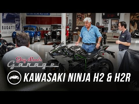 2015 Kawasaki Ninja H2 and H2R Jay Leno s Garage