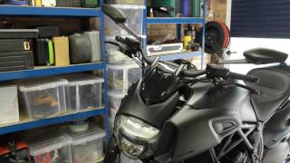 Ducati Diavel. Back after a short break. Part 2.