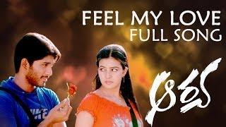 Feel my love Full Song ll Aarya Movie ll Telugu Love Songs