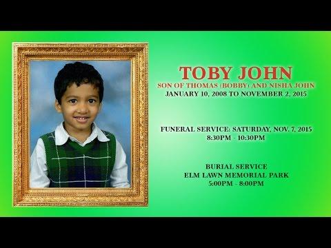 Xxx Mp4 TOBY JOHN Funeral Service HQ VIDEO 3gp Sex