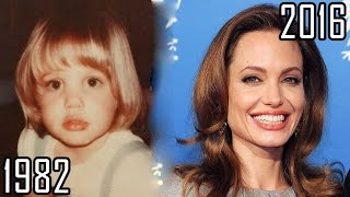 Angelina Jolie (1982-2016) all movies list from 1982! How much has changed? Before and Now!