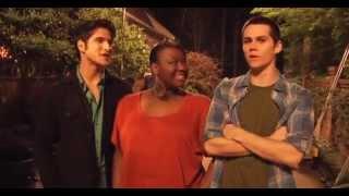 Teen Wolf Season 2 behind the scenes with Shantal Rhodes