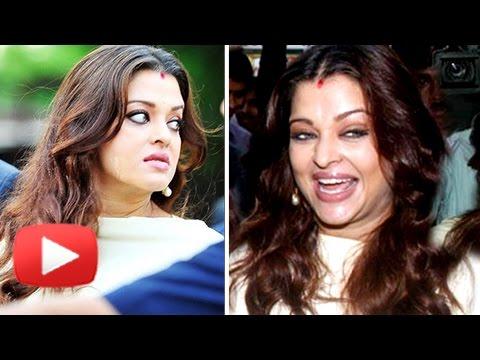 WATCH Aishwarya Rai FUNNY FACE EXPRESSIONS Caught on Camera!