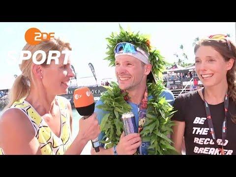 Das Weltmeister-Interview mit Patrick Lange | Ironman Hawaii - ZDF