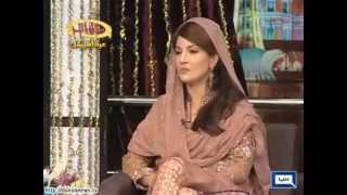 Watch huge welcome of Reham Khan in Mazaaq Raat