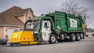Mack LE - Heil DuraPack Half/Pack Garbage Truck