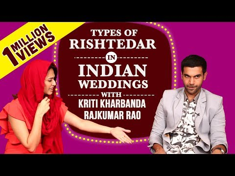 Xxx Mp4 Types Of Rishtedaars In Indian Weddings Ft Rajkummar Kriti Shaadi Mein Zaroor Aana 3gp Sex