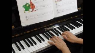 John Thompson's Easiest Piano Course Part 1 P.24 Funny Faces