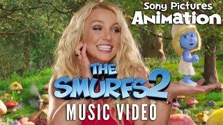 The Smurfs 2 - Britney Spears - Ooh La La Music Video
