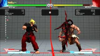 Street Fighter V Beta Phase 2 - Ken Combos and Setups (Also Tested Some Move Properties)