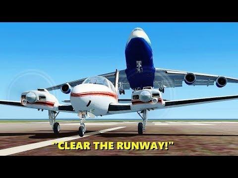 Xxx Mp4 CLEAR THE RUNWAY 747 Pilots In Flight Simulator X Multiplayer ATC 3gp Sex
