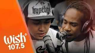 """Chocolate Factory (feat. Sinio) performs """"Pag-asa"""" LIVE on Wish 107.5 Bus"""