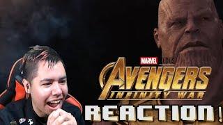 Avengers Infinity War TRAILER REACTION!