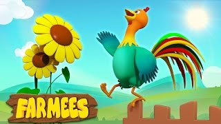 Cock A Doodle Do | Nursery Rhymes Songs | 3D | Song For Children