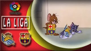 Real Sociedad VS Barcelona  2:4  😡This Is BARCA !😤 La Liga 14/01/2018 HD
