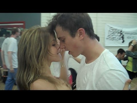 FOOTLOOSE DANCE REHEARSAL with JULIANNE HOUGH KENNY WORMALD and ZIAH COLON