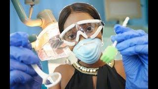 ASMR Dental Hygienist Roleplay| Cleaning your Teeth