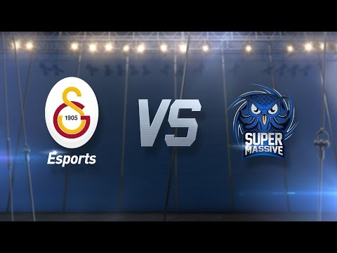 Galatasaray Esports ( GS ) vs SuperMassive eSports ( SUP ) 1. Maç   2017 Kış Mevsimi 7. Hafta