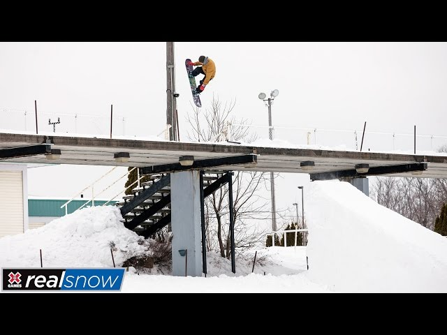 Frank Bourgeois wins gold in Real Snow 2017 | X Games