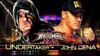 WrestleMania 30 - The Undertaker Vs Johncena (I Quit Match) Full Match HD