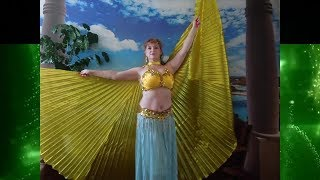Танец с крыльями. Belly dance! Восточные танцы. Иолла Танец живота. رقص شرقي