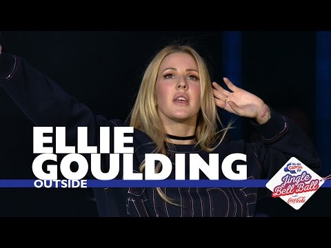 Download Lagu Ellie Goulding - 'Outside' (Live At Capital's Jingle Bell Ball 2016) MP3