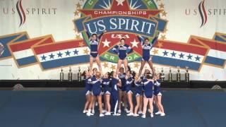 Attleboro High School Varsity Co-ed cheer 2015 National Champions