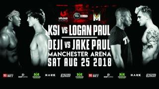 KSI VS. LOGAN PAUL [OFFICIAL WEIGH IN]