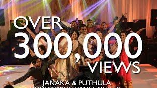 Janaka & Puthula Homecoming Dance | Bollywood Medley