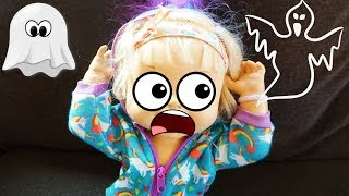 BABY ALIVE Finds Monster Under Bed And Ghosts In Bedroom! Scary Baby Alive Video