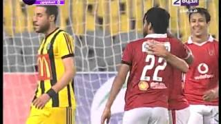أهداف مباراة (الأهلي vs المقاولون )...الإسبوع الثالث عشر من الدوري الممتاز2015\2016