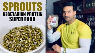 Power of SPROUT BEANS (Mung) - Vegetarian Protein Super Food | Info by Guru Mann