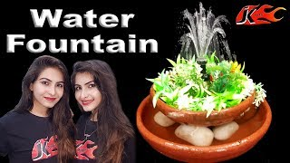 How to make Tabletop water Fountain - JK Arts 1474