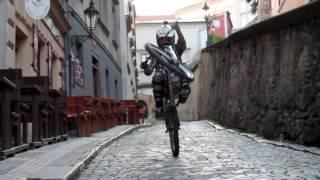 Praha city downhill 2016