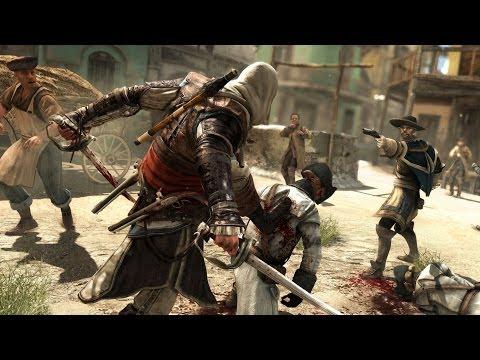 Assassin's Creed 4 Free Roam , Combat & Parkour