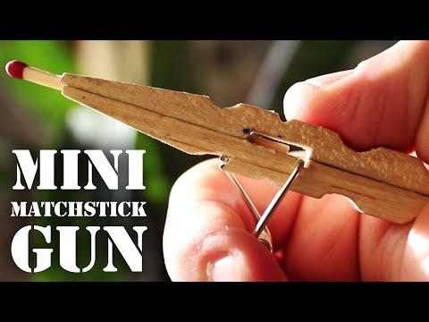 Xxx Mp4 Mini Matchstick Gun The Clothespin Pocket Pistol 3gp Sex