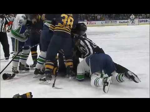 Gotta See It Burrows gets rough with Lehner then gets tackled by Falk