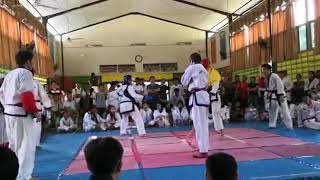 Tang Soo Do Kuching- Michael Owen vs Raymond