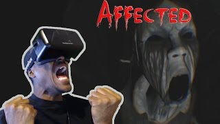 PANIC ATTACK!!! | Affected DK2 OCULUS RIFT HORROR GAME