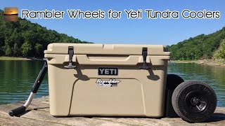 Review and Test: Rambler X2 All-Terrain Wheels for Yeti Tundra Coolers!