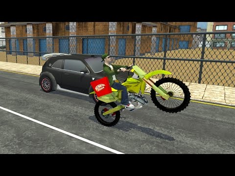 Moto Pizza Delivery Boy 3D wittyGamerz