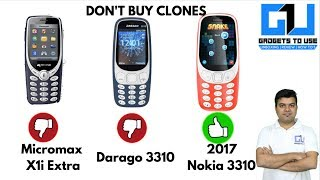 DO NOT BUY Nokia 3310 Clones, You Will Regret Later   Gadgets To Use