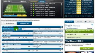 Video Tutorial on Betting Soccer First Half over 0.5 Goals