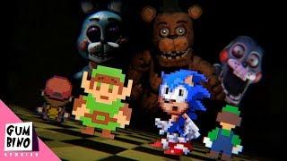 Gumbino: Video Game Competition (S01E03) Freddy