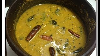 Chakka Kuru Manga Curry / Jackfruit Seed and Raw mango in coconut gravy