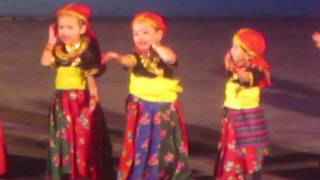Youngest artistes perform on Nepali song