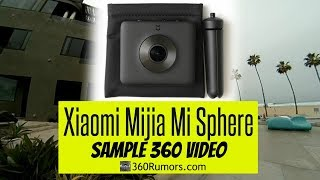Xiaomi Mijia Mi Sphere 360 3.5K panoramic camera with Guru 360 gimbal (STABILIZED 360 video sample)